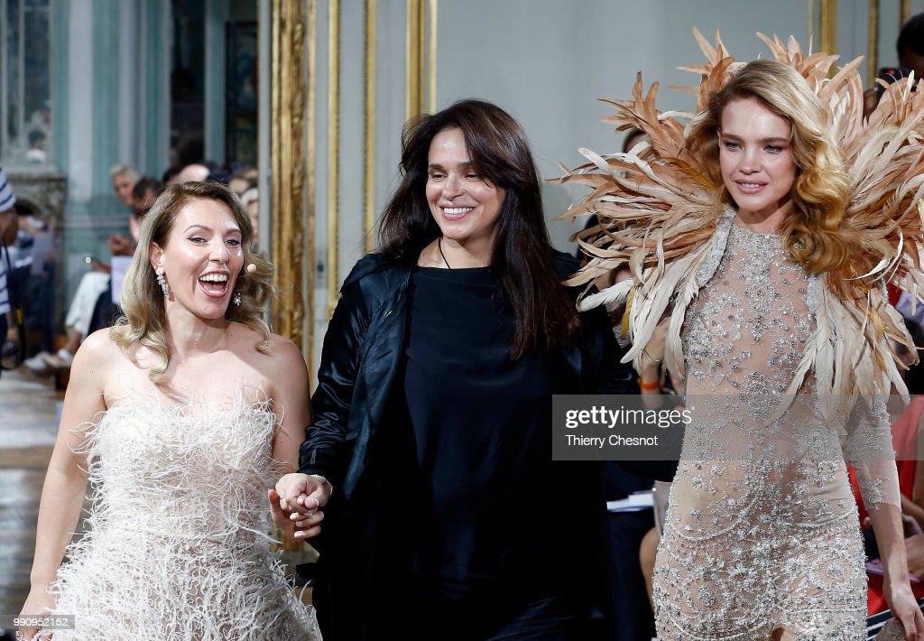 FRA: Celia Kritharioti : Runway - Paris Fashion Week - Haute Couture Fall Winter 2018/2019