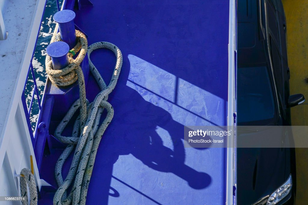 Greek Ferry : Stock Photo