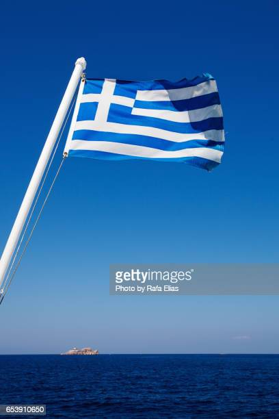 greek flag - greek flag stock pictures, royalty-free photos & images