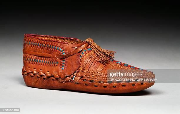 Greek footwear known as opauka Greece 19th century