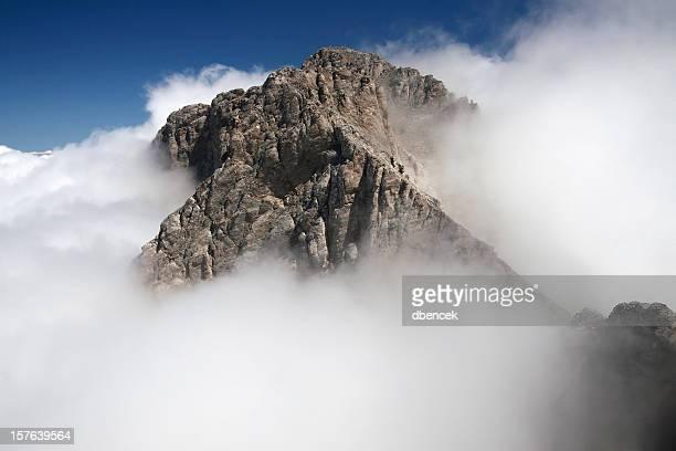 Mt Olympus greco nel cloud