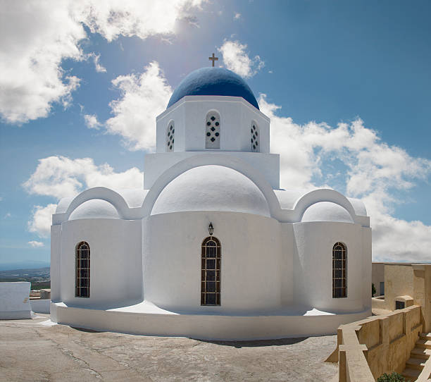 Greek Orthodox Church, Pyrgos, Santorini