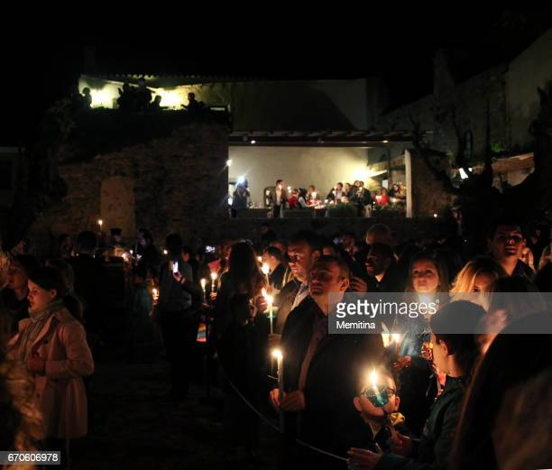 Greek Orthodox Easter Vigil