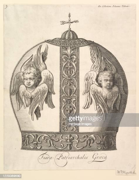 Greek Patriarchal Crown - Tiara Patriarchalis Graeca , 1723-24. Artist William Hogarth.