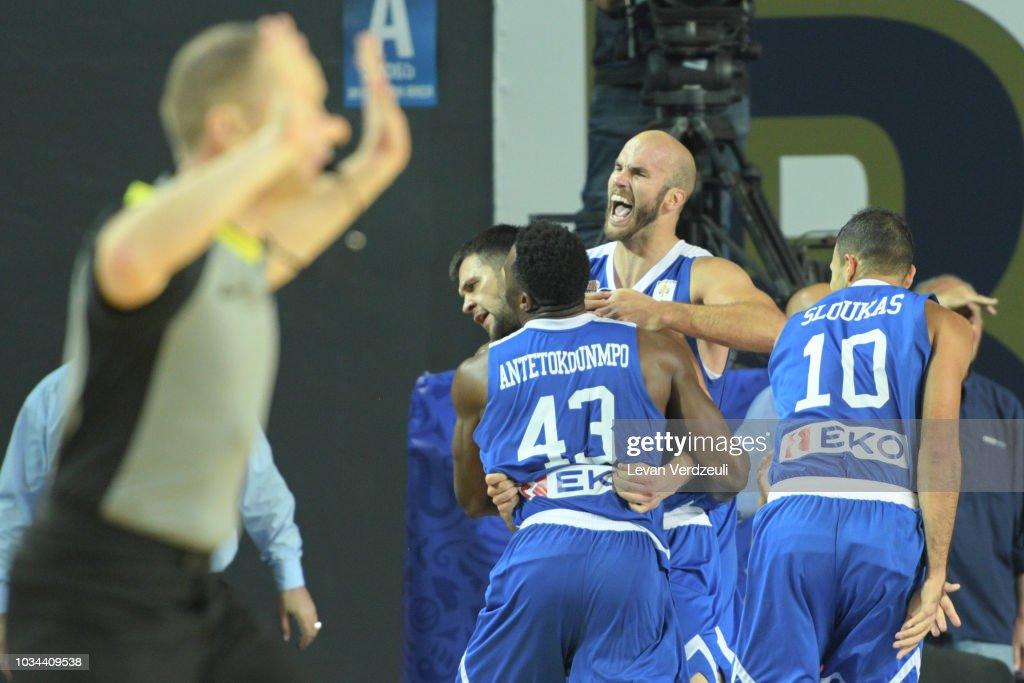 Georgia v Greece - FIBA Basketball World Cup 2019 European Qualifier : News Photo