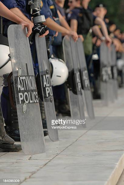 Griechische Polizisten