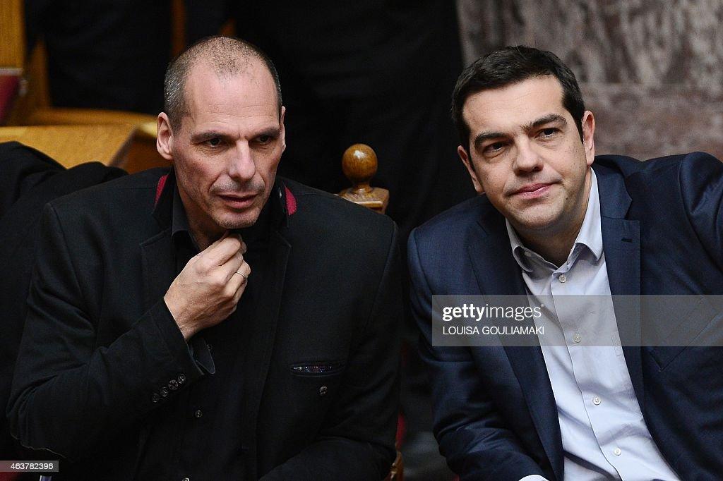 GREECE-ECONOMY-POLITICS : News Photo