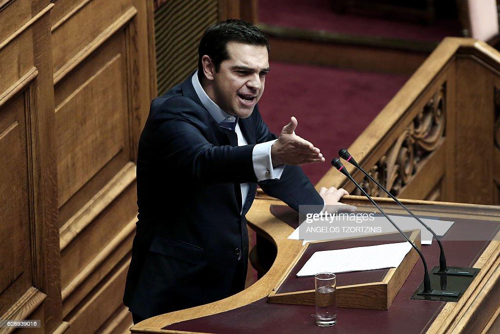 2017's draft State budget - plenum of the Greek Parliament