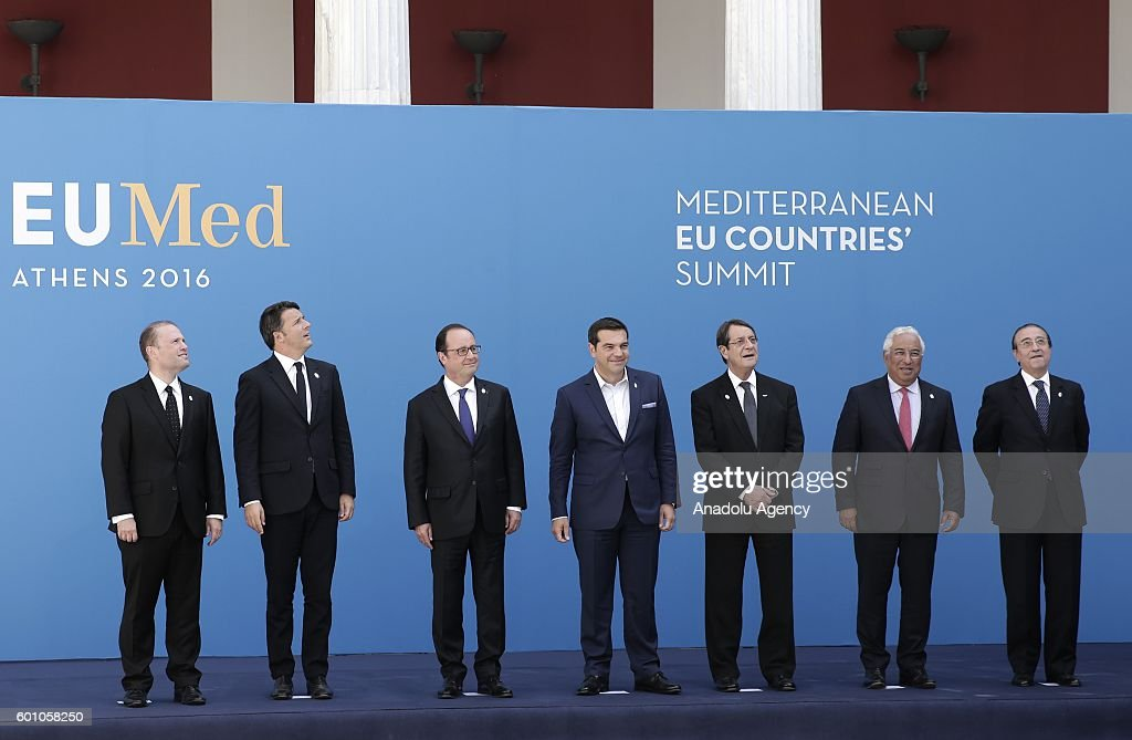 EUMed Summit in Athens : News Photo