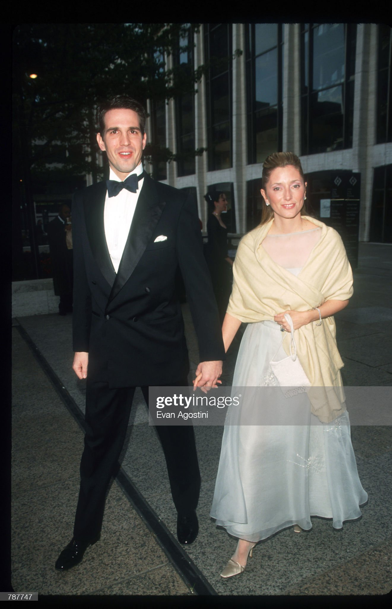 Prince Pavlos And His Wife At Lincoln Center : News Photo