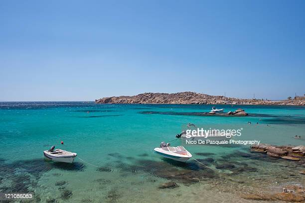Greek sea and coast