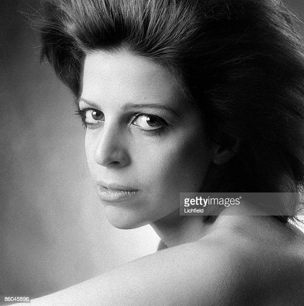 Greek shipping magnate Christina Onassis daughter of billionaire Aristotle Onassis photographed in the Studio on 18th December 1970
