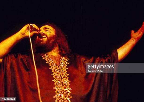 Greek singer Demis Roussos circa 1974