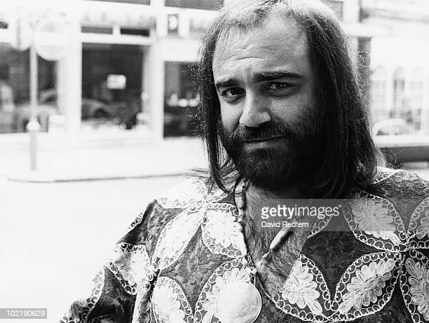 Greek singer Demis Roussos circa 1975