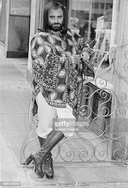 Greek singer Demis Roussos London 12th March 1974