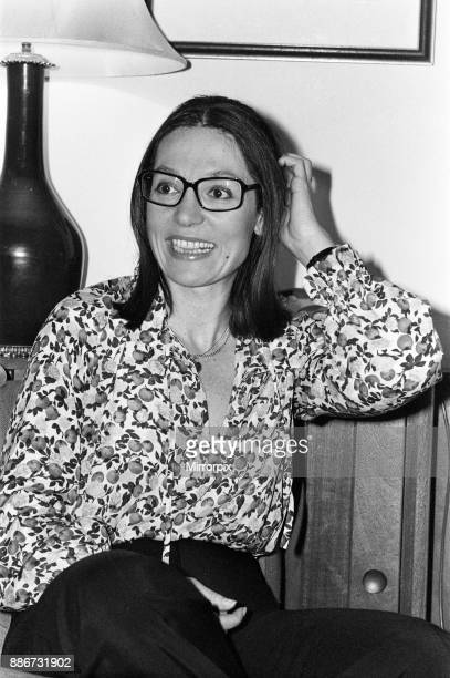 Greek singer Nana Mouskouri 9th March 1979