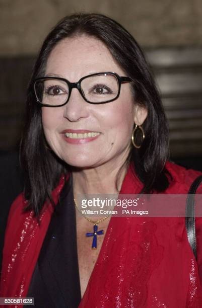 Greek singer Nana Mouskouri at the aftershow party of the film premiere 'Captain Corelli's Mandolin' held at the In & Out Club in London.