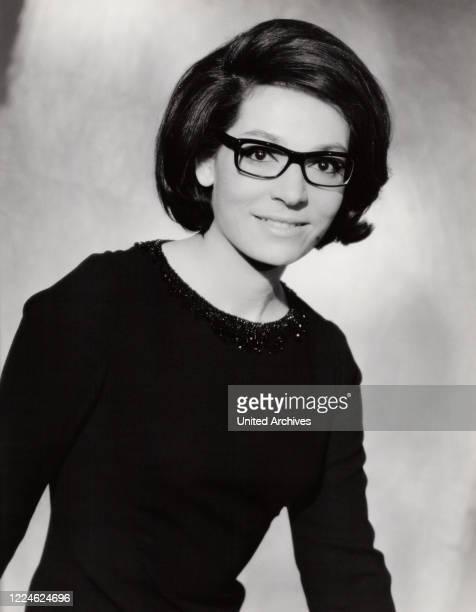 Greek singer Nana Mouskouri Germany early 1960s