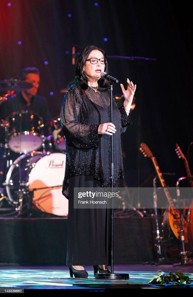 Nana Mouskouri Performs At Admiralspalast