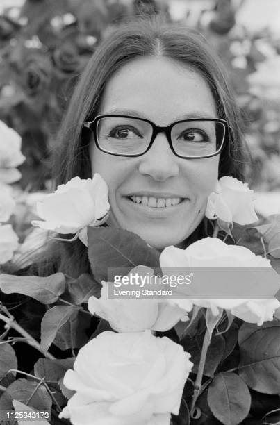 Greek singer Nana Mouskouri UK 19th May 1975