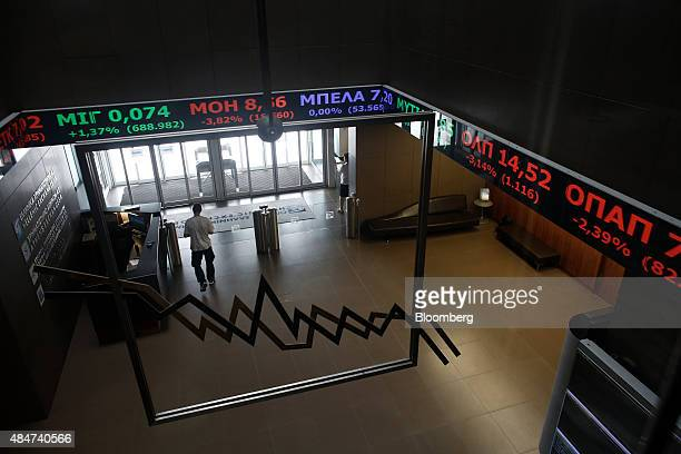 Athens Stock Exchange Sa Following Resignation Of Prime Minister