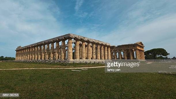 Greek temples in Paestum