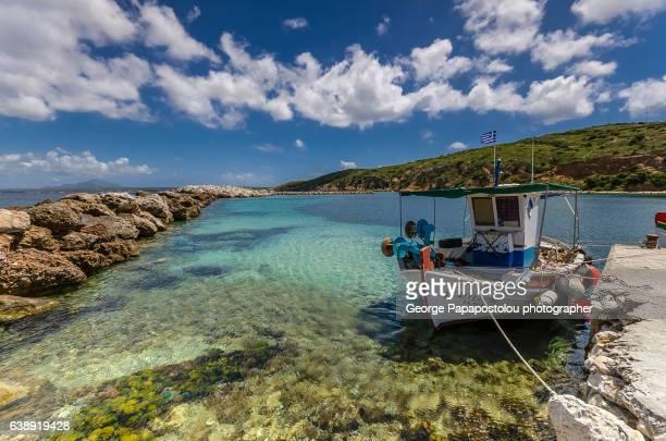 Greek traditional fishing boat