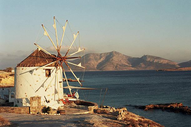 Greek, Windmill, Landscape