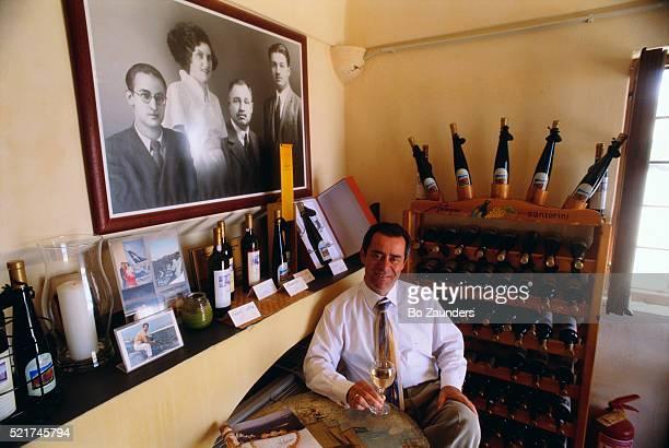 Greek Winery Owner Kostas Antoniou