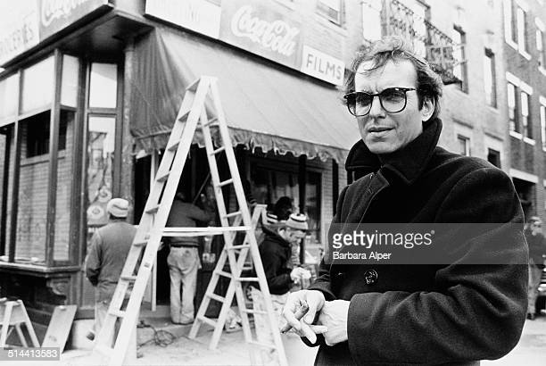 GreekAmerican motion picture production designer Dean Tavoularis on the film set of 'The Brink's Job' Boston USA 15th May 1978