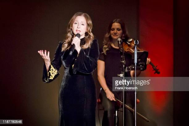 GreekGerman singer Vicky Leandros performs live on stage during a concert at the Konzerthaus on December 10 2019 in Berlin Germany