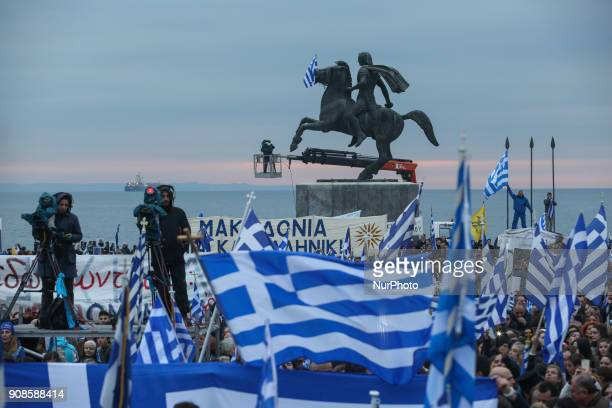Greeks flood Thessaloniki seafront to protest FYROM bid to be called 'Macedonia' About 500000 people protested from all over Greece in front of the...