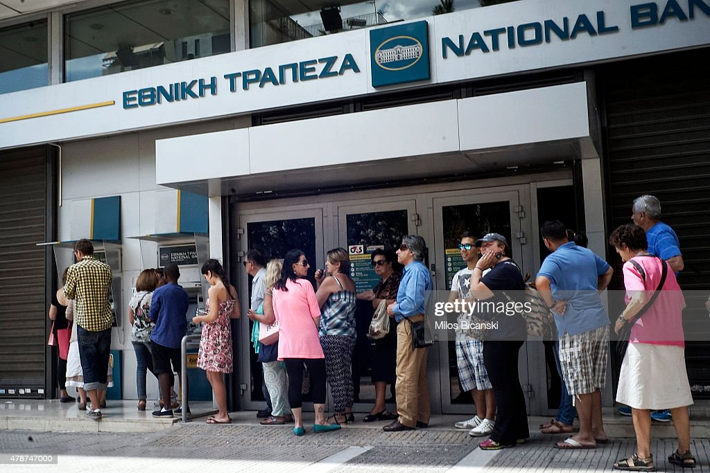 Greece Calls For A Vote On Proposed Bailout : News Photo