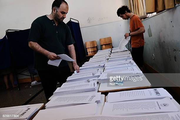 Greeks vote for the Euro Elections and the second round of the Municipality elections