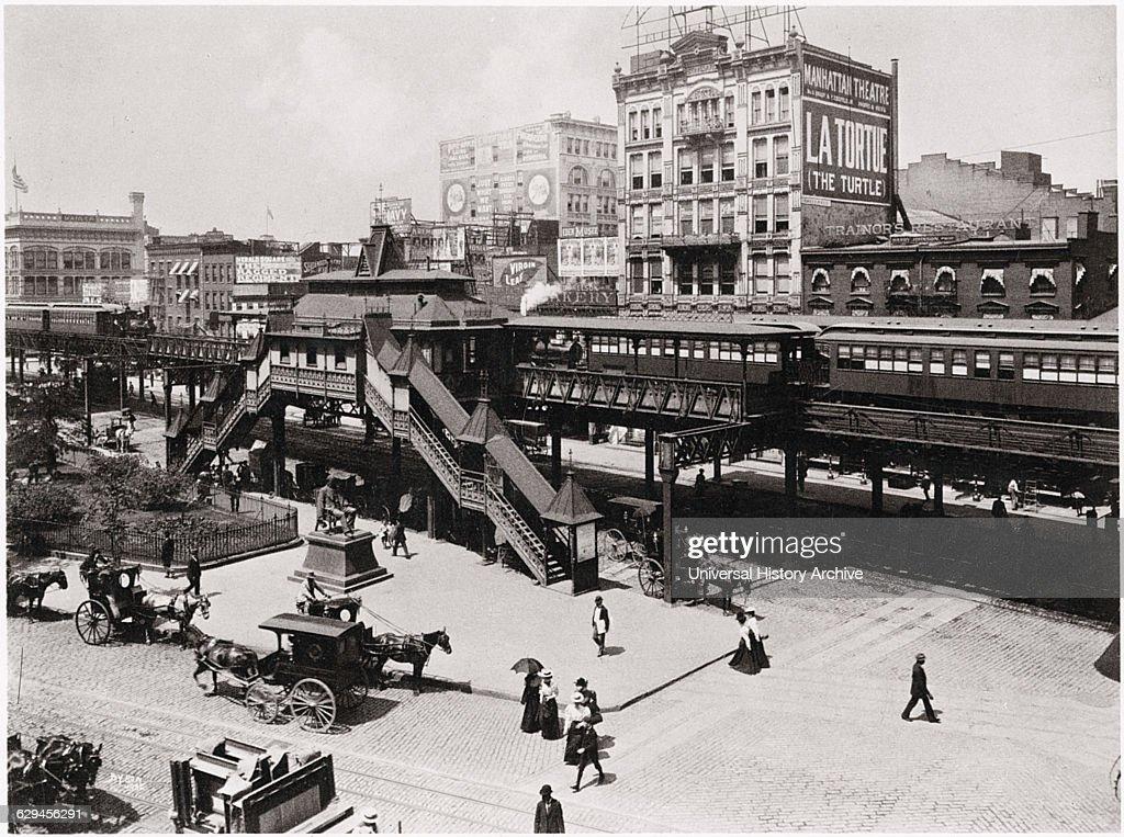 Train Tracks New York City Urban : News Photo