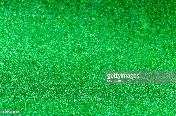 green abstract background with focus bottom