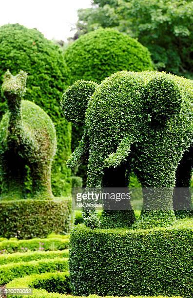 Green Animals Topiary Garden in Portsmouth, Rhode Island