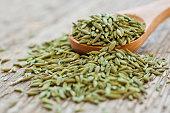 Green anise closeup