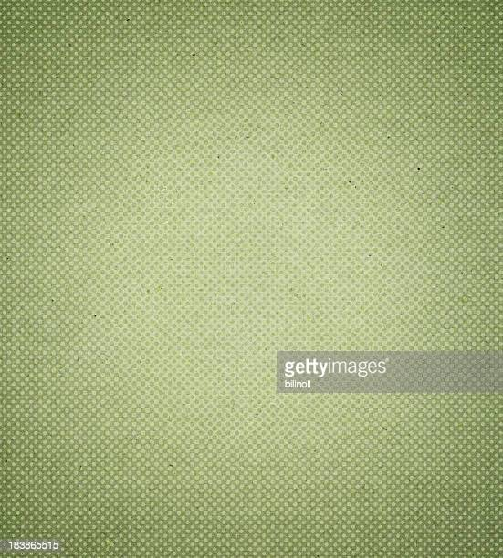 green antique paper with halftone
