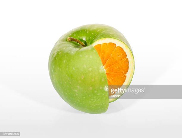 Green Apple Orange