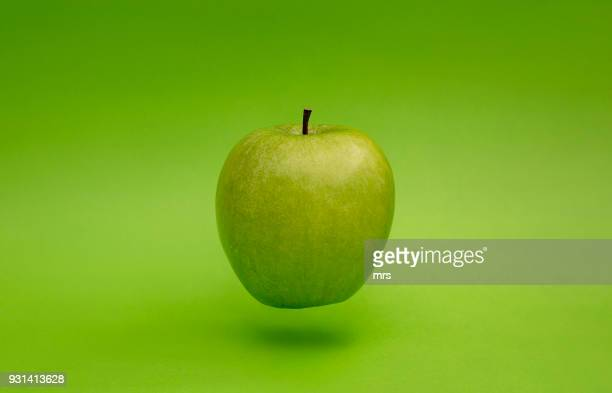 green apple - apple fruit stock photos and pictures