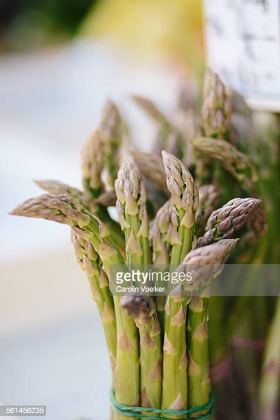 Green asparagus at the Naschmarkt