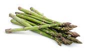 Green asparagus sticks