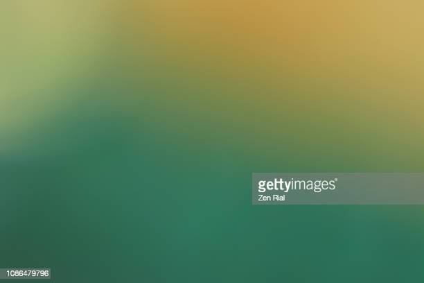Green Backgrounds - soft focus on painted concrete structure