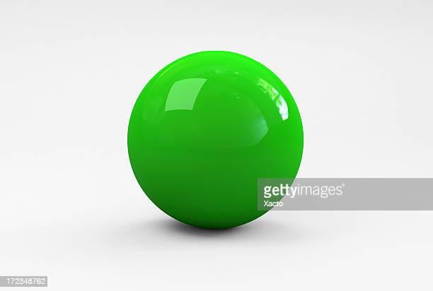 Grüne Ball