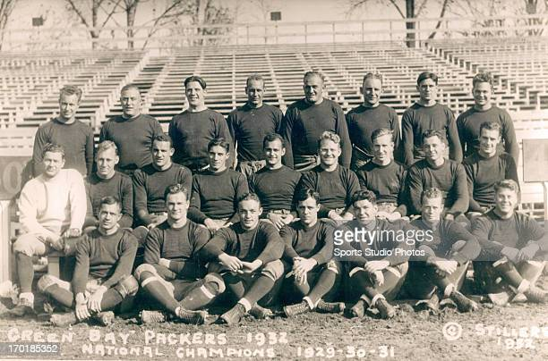 Green Bay Packers 1932 team photo
