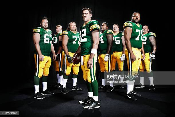 Green Bay Packers are photographed for ESPN The Magazine on August 13 2012 in Green Bay Wisconsin