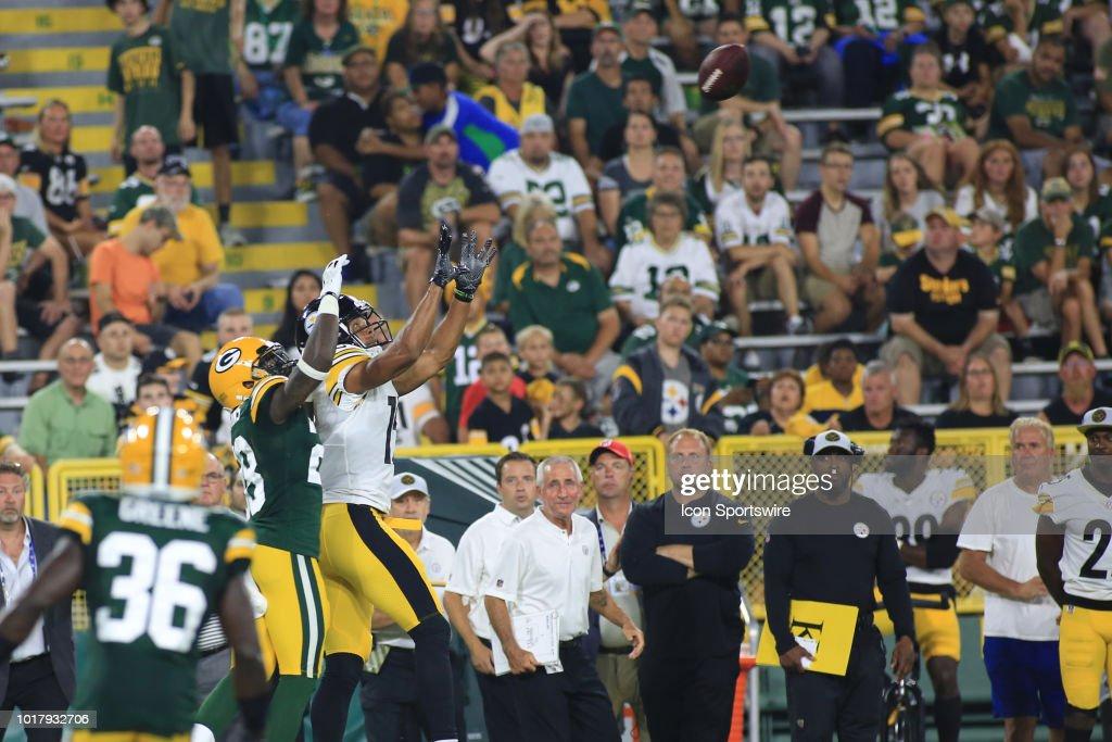 NFL: AUG 16 Preseason - Steelers at Packers : News Photo