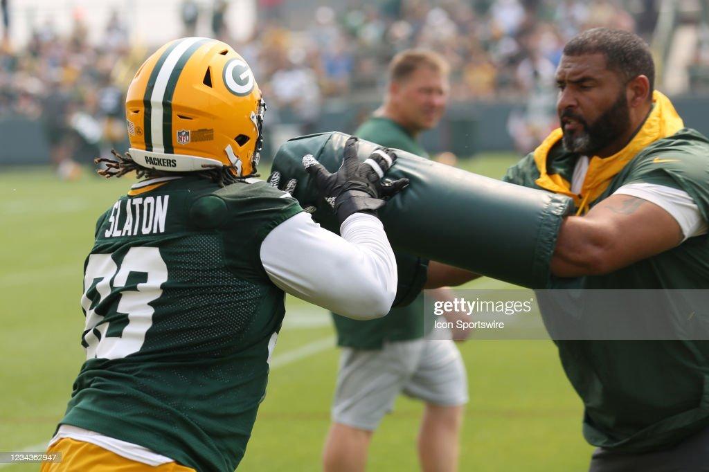 NFL: JUL 31 Green Bay Packers Training Camp : Nachrichtenfoto