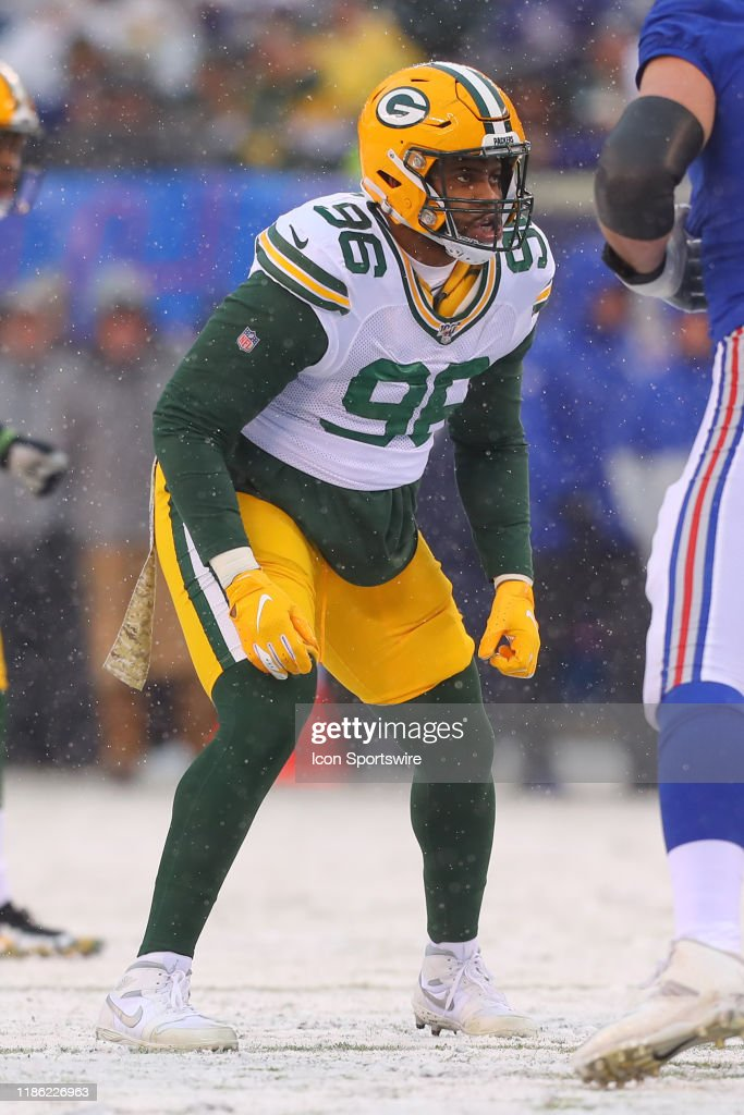 Green Bay Packers Defensive Tackle Kingsley Keke During The National Nieuwsfoto S Getty Images